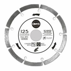 Диск алмазный 125х22 сегм. ONYX