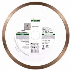 Диск алмазный 200х25,4 сплошн. Hard Ceramics DISTAR