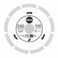 Диск алмазный 230х22 сегм. ONYX