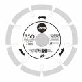 Диск алмазный 350х25,4 сегм. ONYX