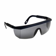 Очки защитные затемненные с дужками