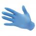 Перчатки нитриловые нeопудренные, голубые