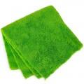 Салфетка микрофибра супер впитывающая 30*30см зелёная